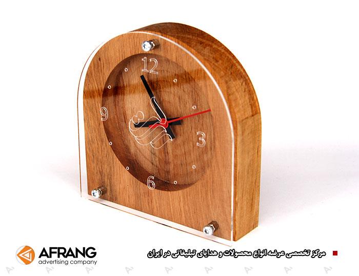 ساعت رومیزی تبلیغاتی